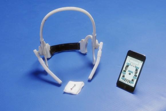 Tongue-driven wheelchair uses high-tech power piercing