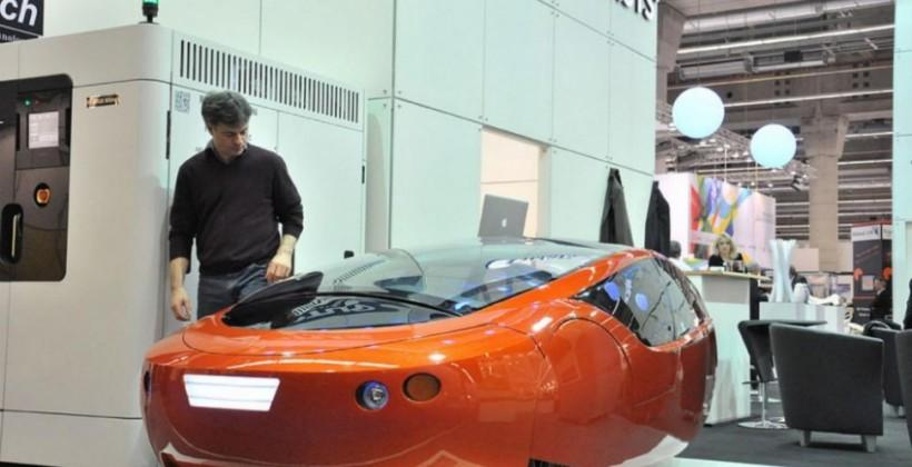 URBEE2 3D-printed car aims to hit 290MPG on cross-country trip