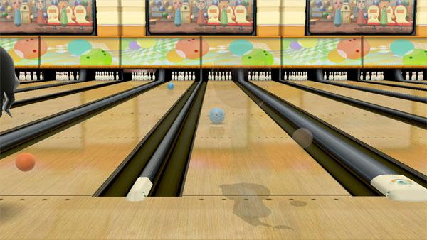 Wii Sports Club tennis and bowling land for Nintendo Wii U