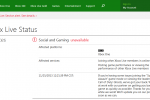 Xbox Live down for Social and Gaming: It's not just you