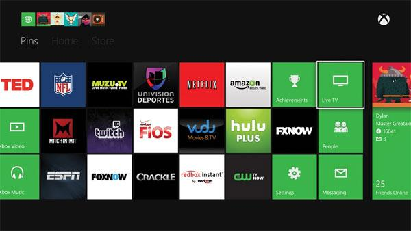 First Xbox One TV and entertainment apps announced