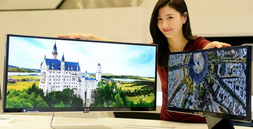 LG UltraWide 34-inch monitors to debut at CES 2014