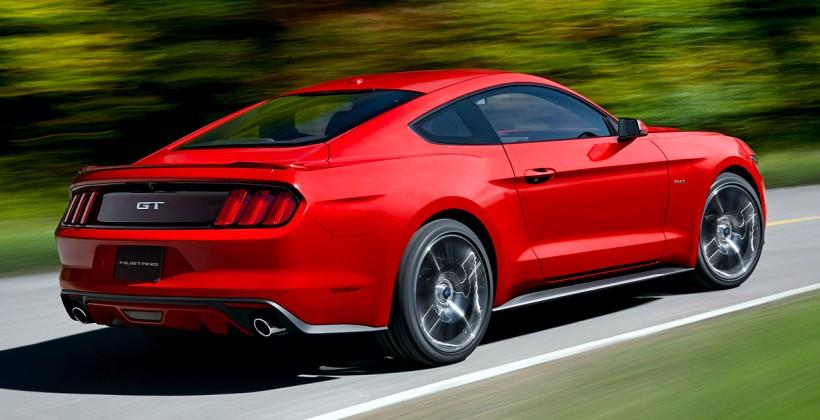 2015 Ford Mustang electronic burnout control confirmed