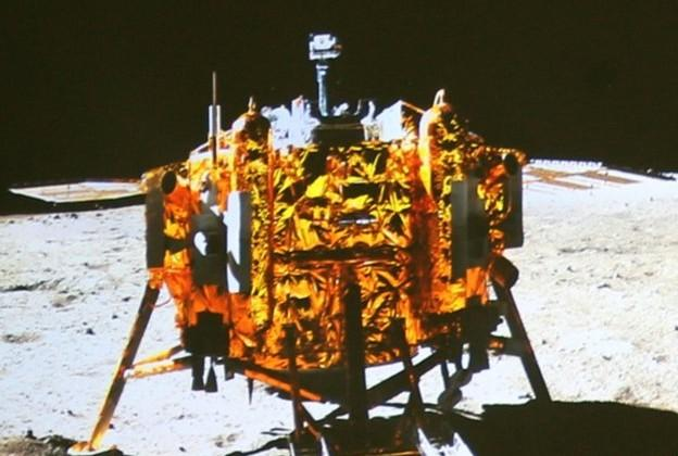 China's robot moon landing mission sends back selfies