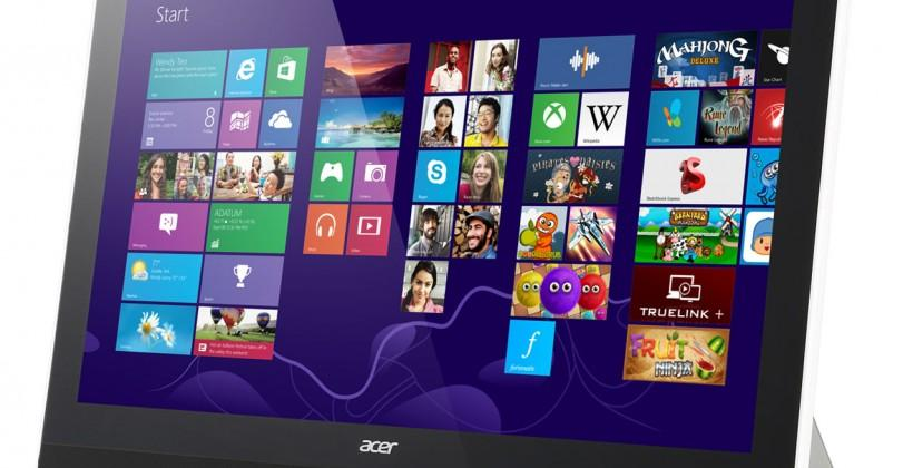 Acer Aspire Z3-600 AIO touch PC has an internal battery