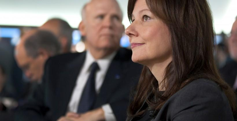 Mary Barra named GM CEO: world's first female global auto leader