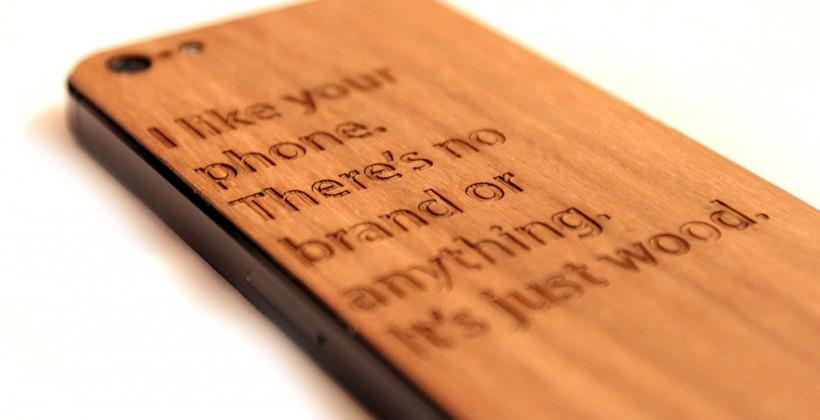 A Week With WOODCHUCK Custom Wood Cases: HTC One, iPhone 5, iPad