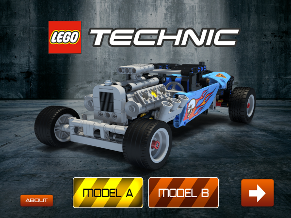 LEGO-TECHNIC-car