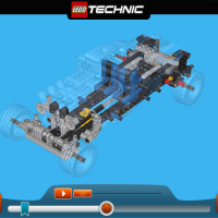 LEGO TECHNIC Hot Rod, Rally Racer build app appears for older tablets