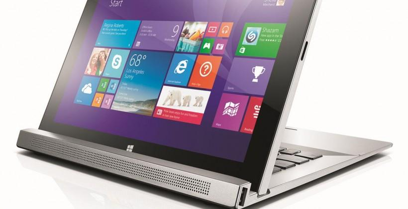 Lenovo Miix 2, Flex 14D and 15D join roster of convertible offerings