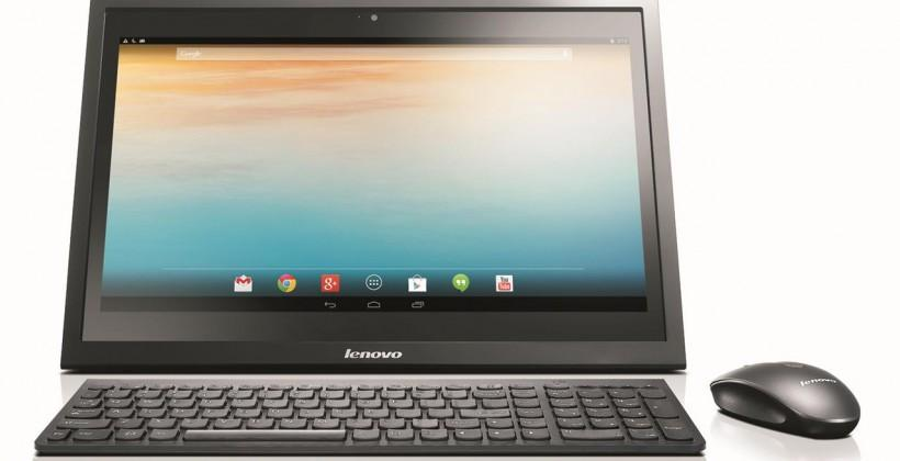 Lenovo N308 Android all-in-one computer is company first