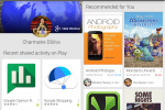 Play Store app update rolling out with activity page, more social recommendations