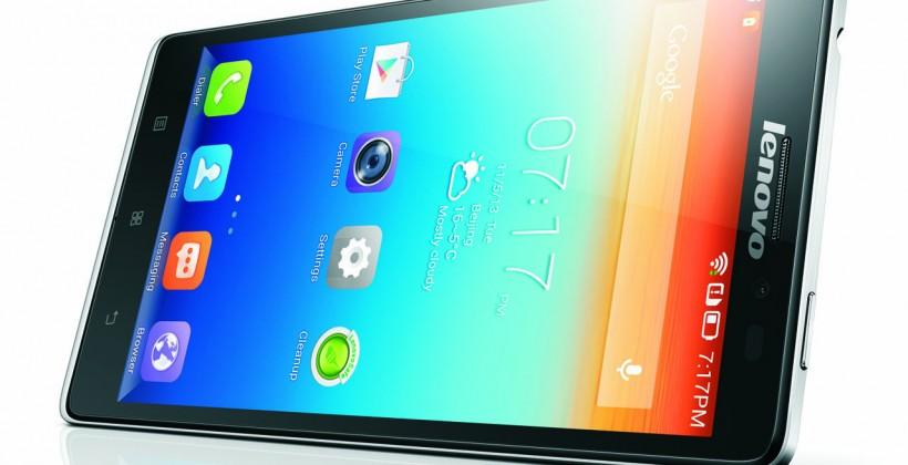 Lenovo Vibe Z is company's first LTE smartphone