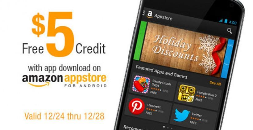 Amazon Appstore special lures new users for Christmas