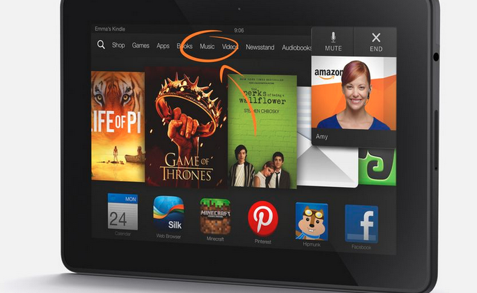 Amazon Kindle Fire HDX pushed hard for the holidays with installment plan