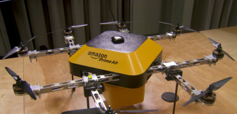 "Amazon ""PrimeAir"" to unveil 30-minute delivery by octocopter"