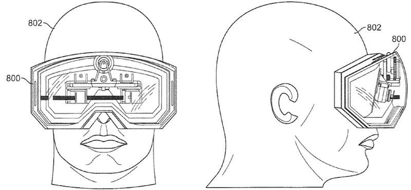 Apple granted patent for portable 3D media goggles