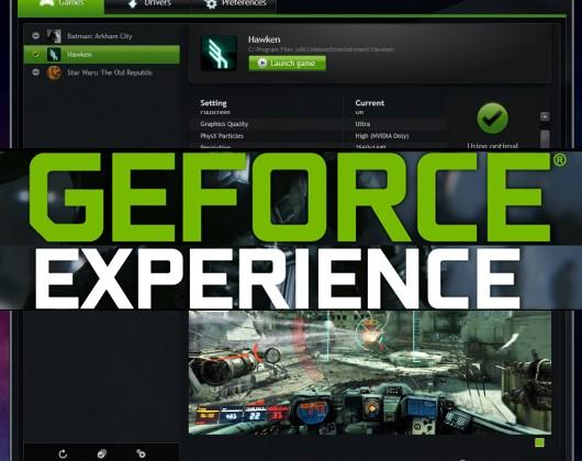 NVIDIA GeForce Experience 1.8 update brings customization abilities