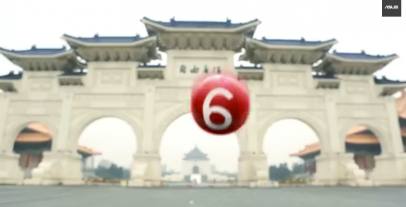 ASUS teaser video, the second of two, tips small, medium, large handsets