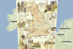 National Geographic uses Google Maps to show historical layouts