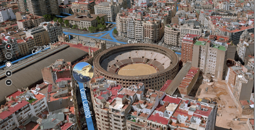 Bing Maps Preview for Windows 8.1 adds 3D cities and Skype integration