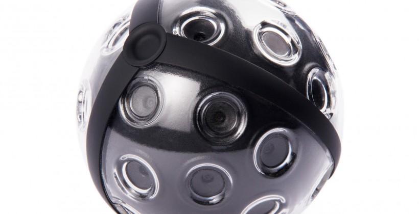 Panono panoramic ball camera breaks 100 megapixel point