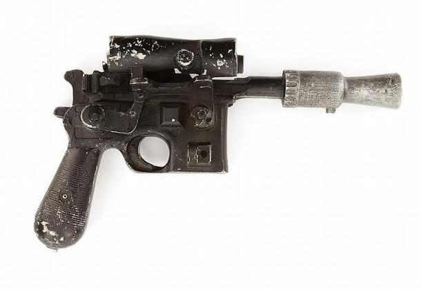 Han Solo's blaster expected to fetch $200k at auction