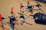 Disposable quadcopters could democratize aerial panoramas