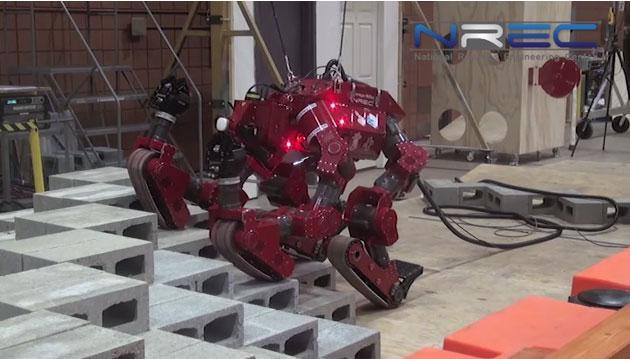 Carnegie Mellon CHIMP robot to participate in DARPA Robotics