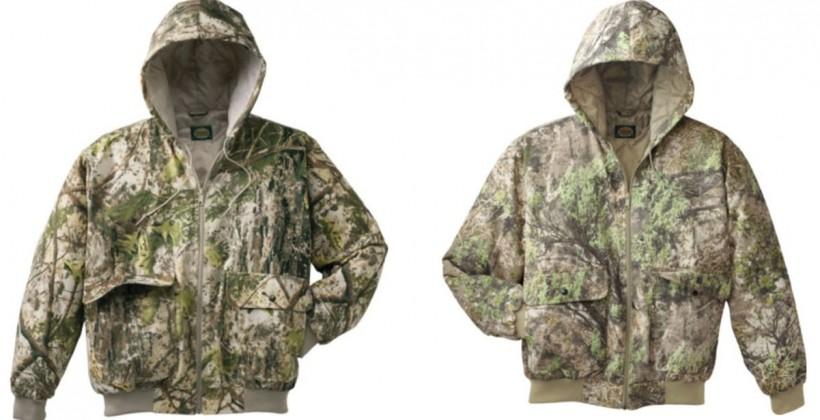 Cabela's ColorPhase temperature sensitive color changing camouflage matches the season