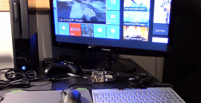 Xbox One and PS4 keyboard and mouse integration being hacked