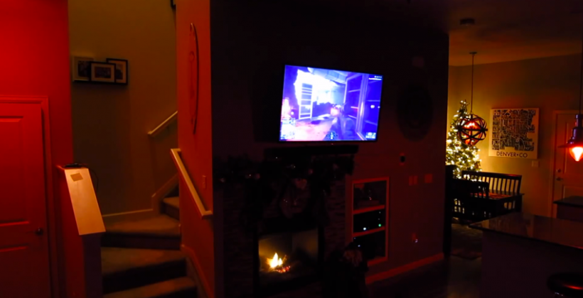 Xbox One DIY immersive lighting concept blends hue with Illumiroom