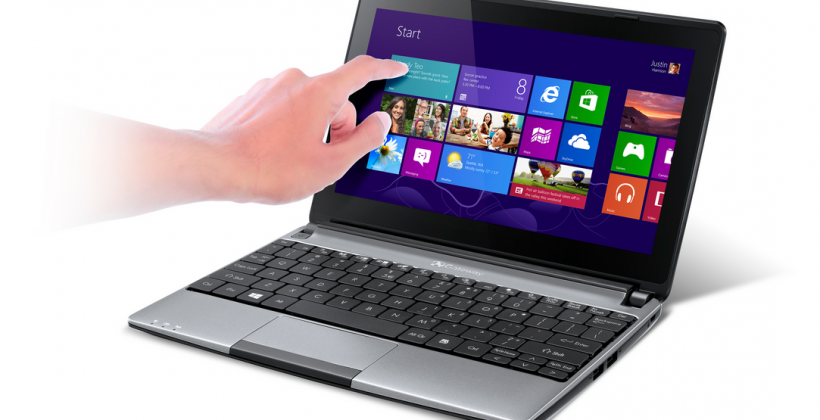 Gateway LT41P notebook returns with touchscreen action
