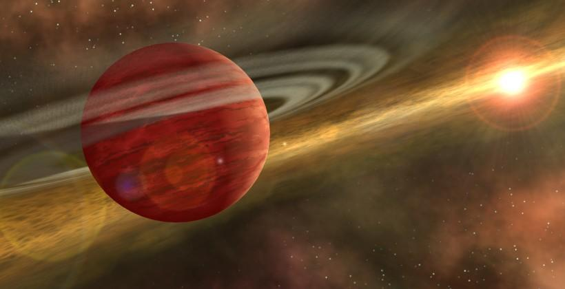 Gigantic exoplanet defies planet and star formation theory