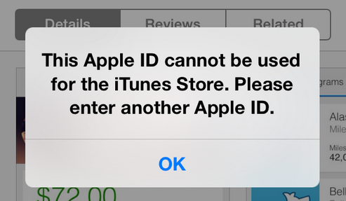 App Store and iTunes Fatal errors appear throughout US