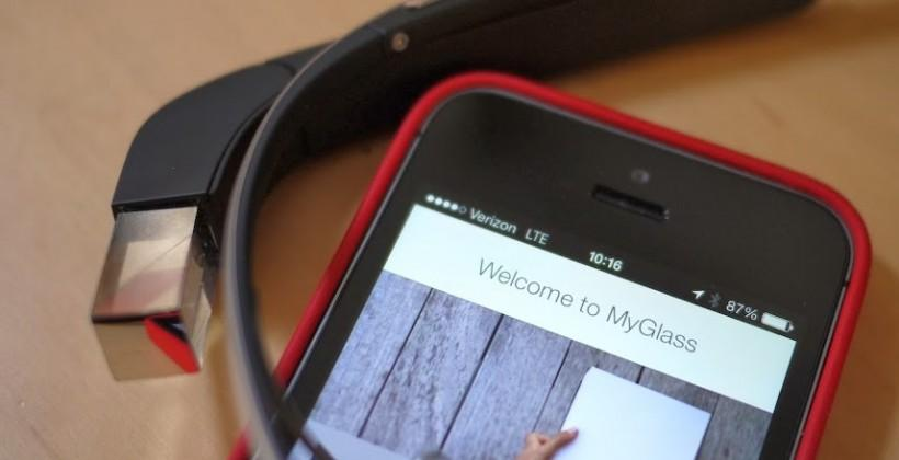Google Glass MyGlass iPhone app appears [Update: Pulled]