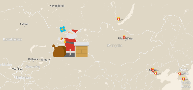 Santa tracking wars: Google vs Microsoft