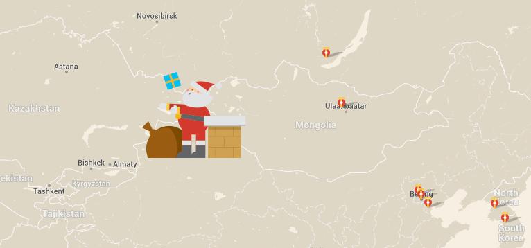Santa tracking wars: Google vs Microsoft