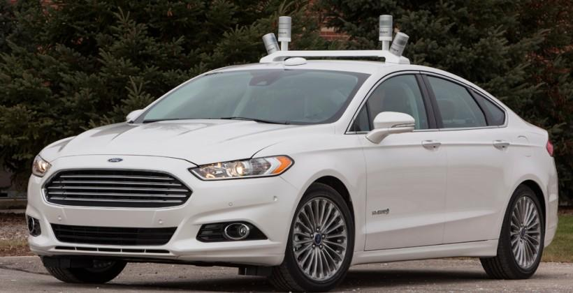 Ford Fusion Hybrid research vehicle revealed for driver-assist testing