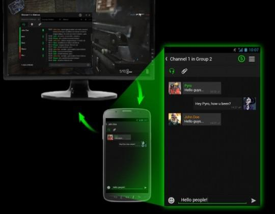 Razer Comms gaming communicator keeps you chatting on Android devices