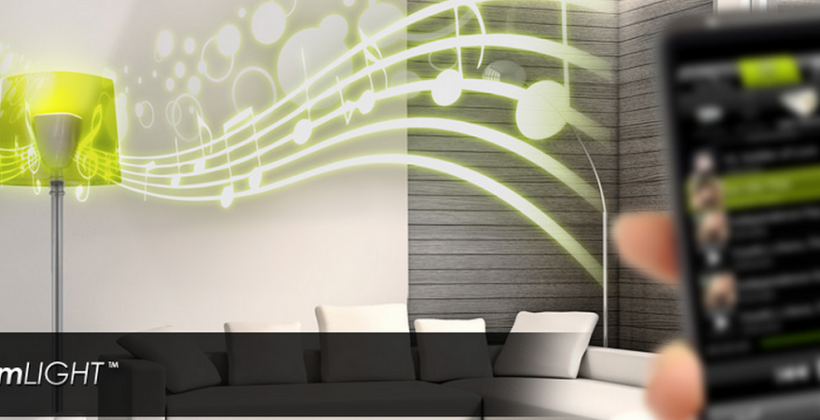 AwoX StriimLight B-10 lightbulb features built-in Bluetooth speaker