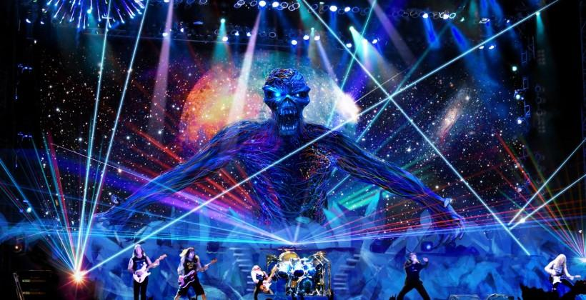 Iron Maiden using piracy to target concert tour with great success