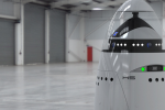 K5 security robot resembles a non-weaponized Dalek