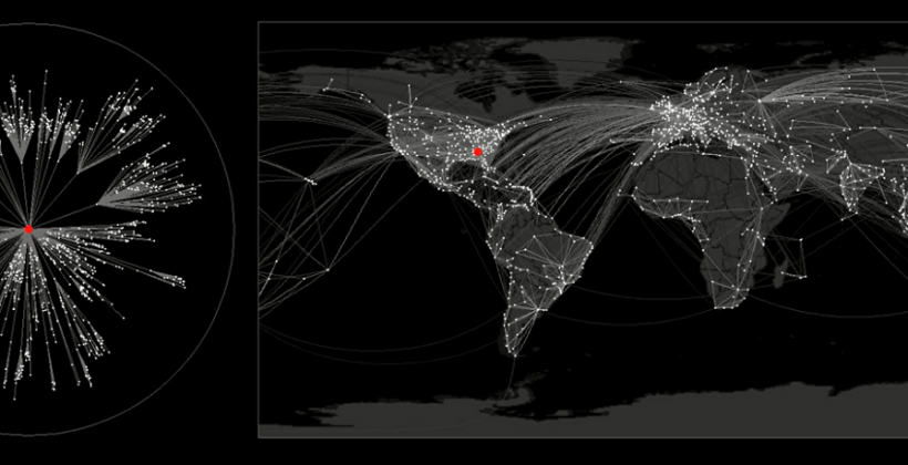 Researchers develop simulation mapping possible pandemics using breakthrough model