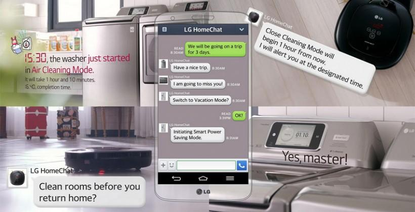 LG Smart Appliances head to CES 2014 with LINE chat capability