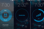 Pandora Alarm Clock for iOS wakes you up with a station, offers snooze option