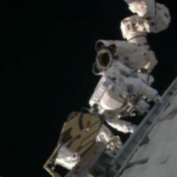 ISS astronauts finish first of two, possibly three spacewalks