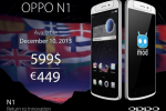 OPPO N1 smartphone with ColorOS, CyanogenMod to launch Dec. 10