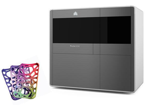 3D Systems ProJet 4500 full color plastic 3D printer debuts