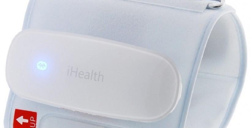 iHealth smart blood pressure cuff enters trials, aims to improve preventative monitoring